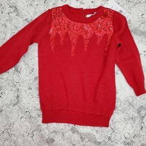 George 6-12M Knitted Pullover Sweater